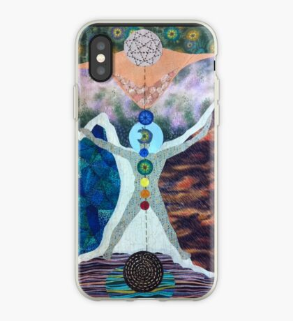 The Tree of Life and the Universal Man iPhone Case
