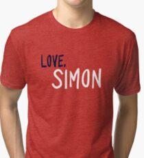 Love, Simon - Logo Tri-blend T-Shirt