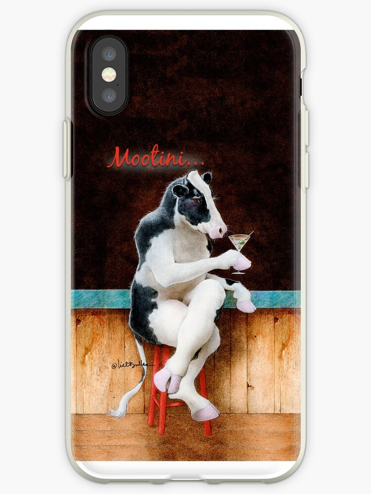 Will Bullas / phone cover / mootini / humor / animals / cow by Will Bullas