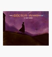 Doctor Who - A NEW DAWN  Photographic Print