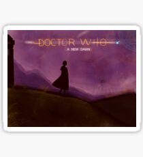 Doctor Who - A NEW DAWN  Sticker