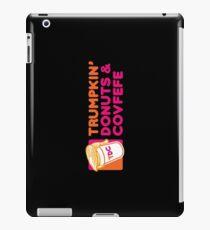 Trumpkin' Donuts & Covfefe  iPad Case/Skin