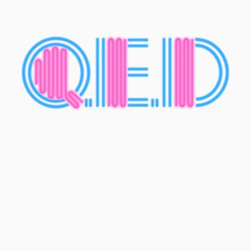 QED - early 80's logo by Rakondite