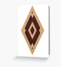 Elder Scrolls Imperial Red Diamond Greeting Card