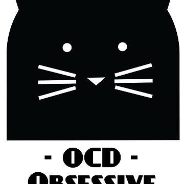 OCD - Obsessive Cat Disorder by soulwhispherer
