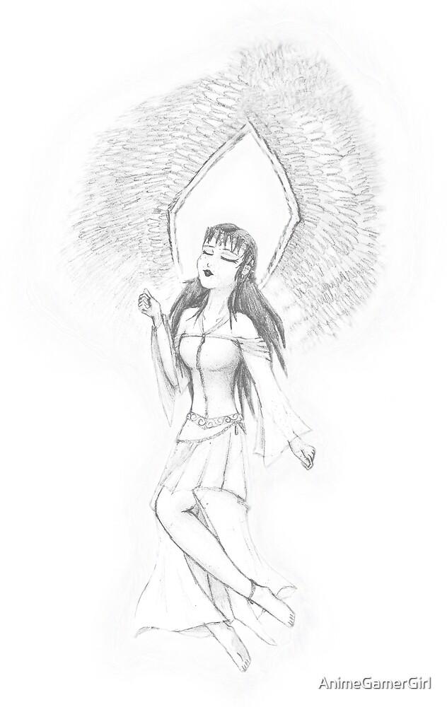 Pencil Angel by AnimeGamerGirl