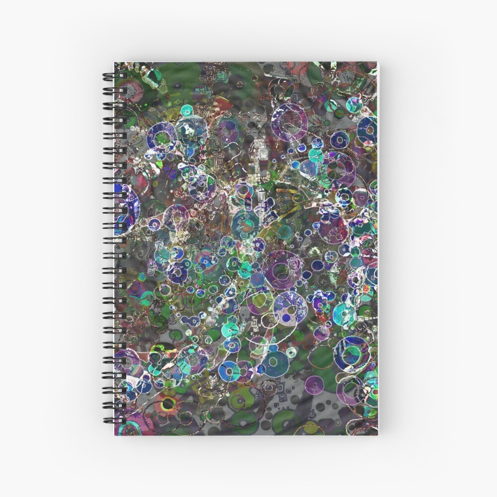 Wavefronts Spiral Notebook