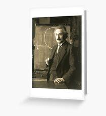 Young Albert Einstein Greeting Card