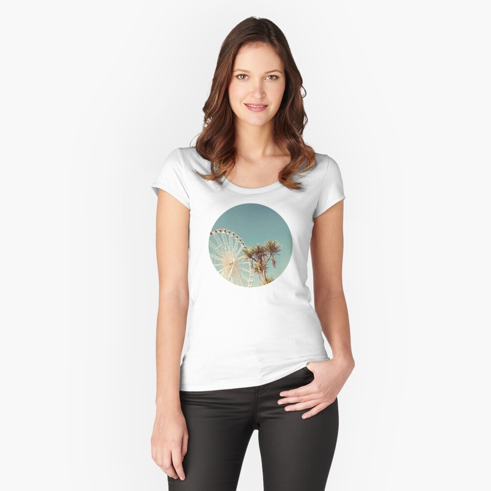 The Height of Summer Fitted Scoop T-Shirt