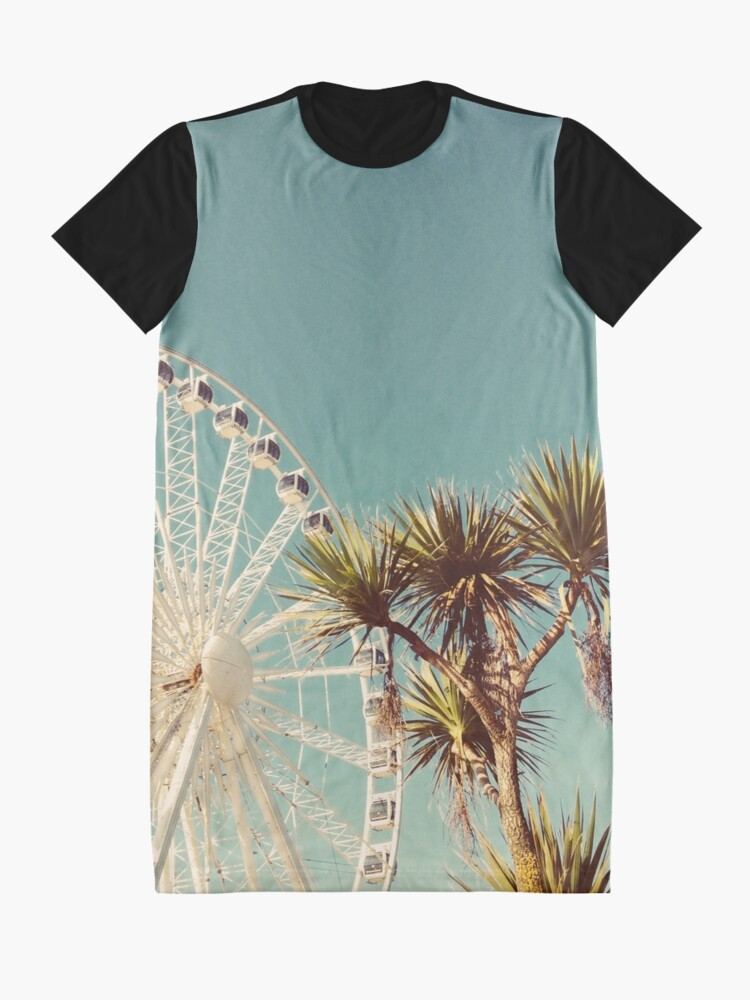 Alternate view of The Height of Summer Graphic T-Shirt Dress