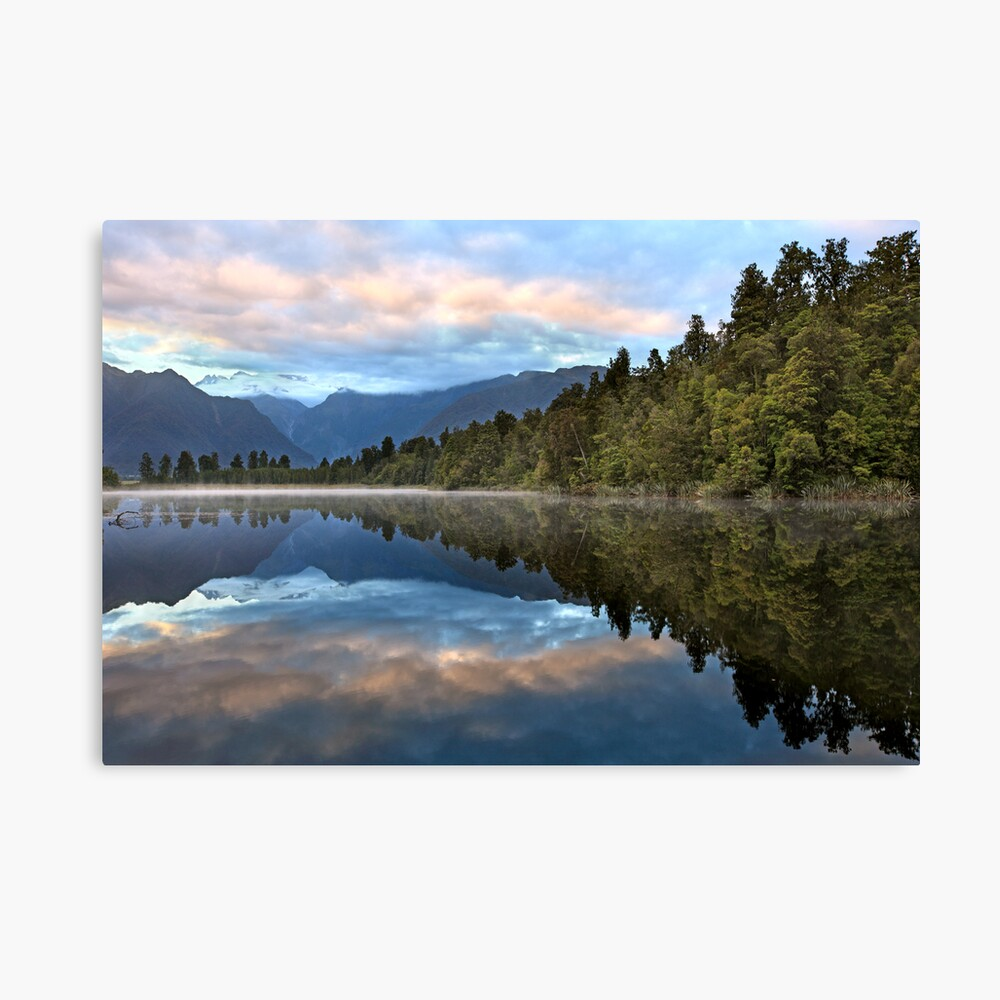 Lake Matheson Dawn, South Island, New Zealand Canvas Print