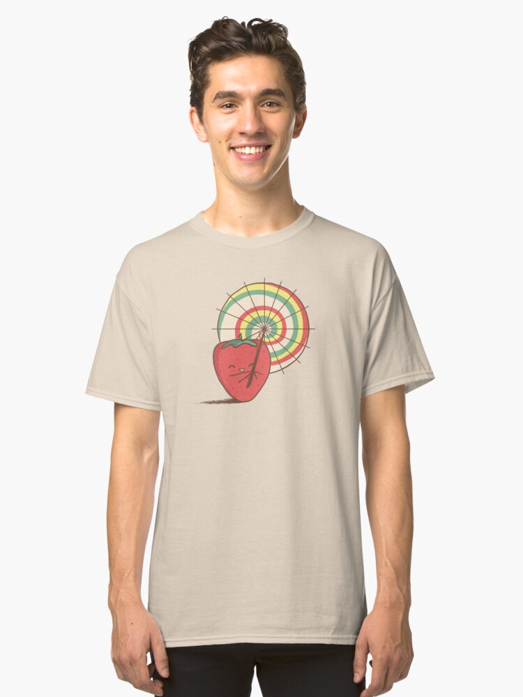 Strawberry Frye Classic T-Shirt Front