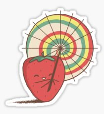 Strawberry Frye Sticker