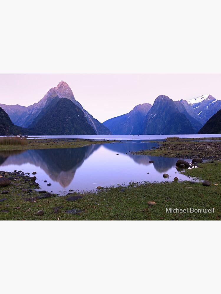 Milford Sound Dawn, South Island, New Zealand by Chockstone