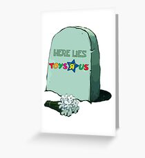 Here Lies All 90 Kids' Hopes and Dreams  Greeting Card