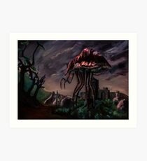 Morrowind - Silt Strider Art Print