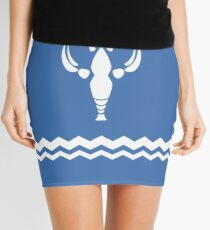 Crayfish Design Mini Skirt