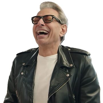 Jeff Goldblum Laughing by grantsewell