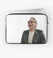 Jeff Goldblum Laughing Laptop Sleeve