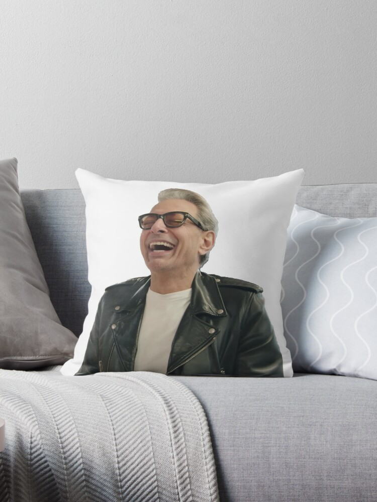 Jeff Goldblum Laughing by Grant Sewell