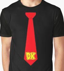 DK Tie - Donkey Kong Tie T-Shirt Graphic T-Shirt