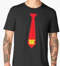 DK Tie - Donkey Kong Tie T-Shirt Men's Premium T-Shirt