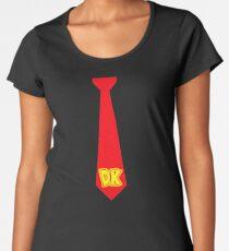 DK Tie - Donkey Kong Tie T-Shirt Women's Premium T-Shirt