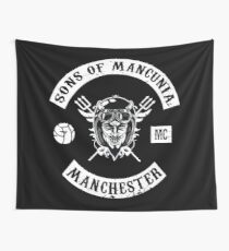 Sons of Mancunia MC Wall Tapestry