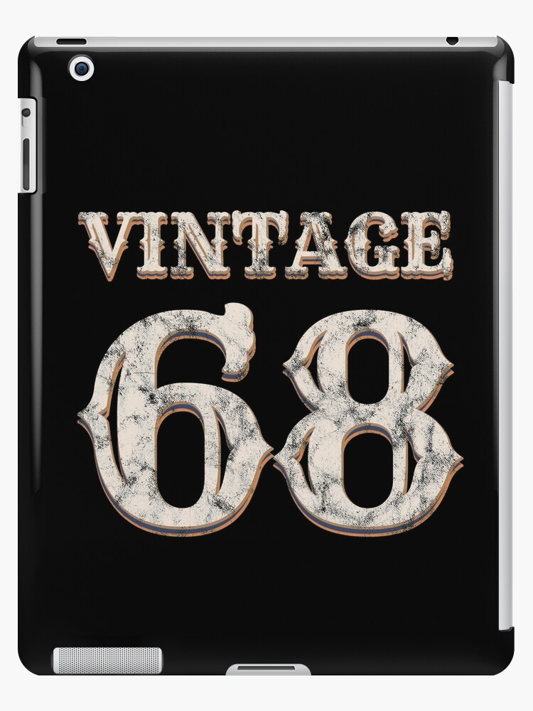 Vintage 68 Tshirt 50th Birthday Gift For 50 Year Old By Blazesavings