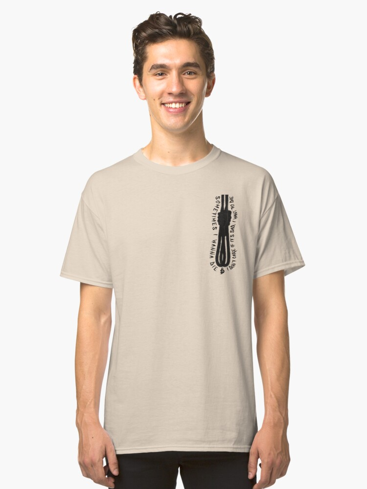 blackbear cashmere noose classic t shirt by danieldeprived redbubble