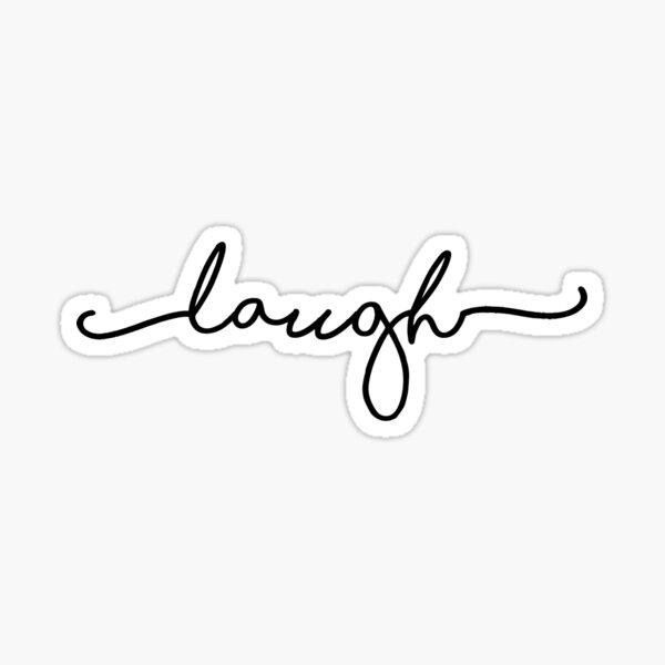 laugh sticker Sticker