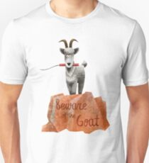 Big Thunder Mountain Railroad Train- Beware of the Goat - Dynamite is a blast Unisex T-Shirt