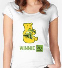 Winnie Plutonium Women's Fitted Scoop T-Shirt