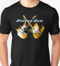 Status Quo Crossed Guitars Unisex T-Shirt