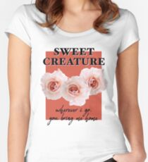sweet creature Women's Fitted Scoop T-Shirt