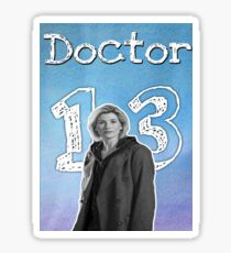 13th Doctor  Sticker