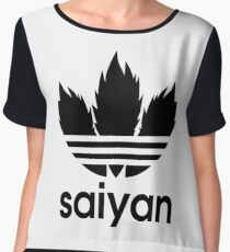 Saiyan - Dragon Ball Z Chiffon Top