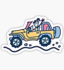 Life is goood Sticker