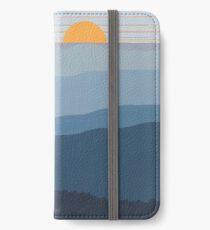 """Blue Mountain Morning"" 27 iPhone Wallet/Case/Skin"