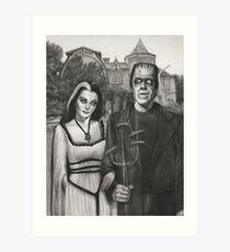 Meet the Munsters Art Print