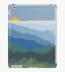 """Springtime Blue Ridge Sunset"" iPad Case/Skin"