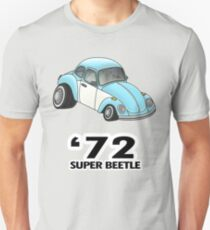 '72 super beetle vw cartoon Unisex T-Shirt