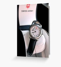 Catalog Watch Greeting Card