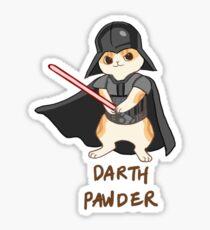 Waffles Darth Vader Sticker