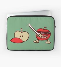 funny ninja apple  Laptoptasche
