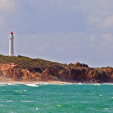 Split Point Lighthouse (4), Aireys Inlet, Great Ocean Road by janjuc