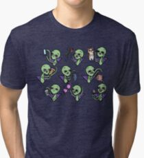Emerging from the Cosmos to Steal your Things  Tri-blend T-Shirt