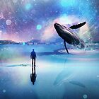 Walking with Whales by Vin  Zzep