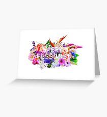 Happy Pessimist Greeting Card