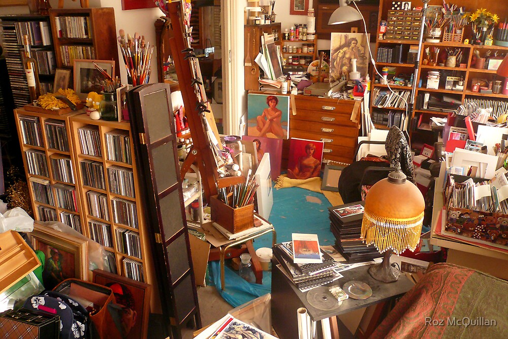 A Corner of My Workspace! by Roz McQuillan
